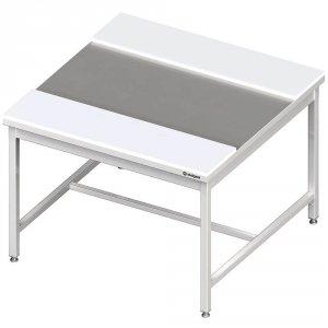 Stół centralny z płytami polietylenowymi 1600x1200x850 mm spawany