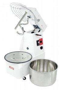 Miesiarka do ciasta spiralna z podnoszonym hakiem i wyjmowaną dzieżą RQT 20 litrów 400V 2 prędkości
