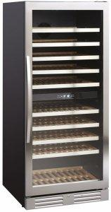 Chłodziarka do wina   szafa chłodnicza na wino   2 strefy   SV104X   312l