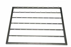 Półka ze stali nierdzewnej GN 2/1 | akcesoria do szafy do sezonowania ZERNIKE | K90GRI