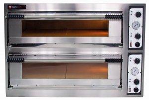 Piec elektryczny piekarniczy modułowy szamotowy | 8x600x400 | szeroki | BAKE 66/L (TR66/L)