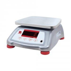 waga pomocnicza, wodoodporna, stal nierdzewna, zakres 6 kg, dokładność 1 g