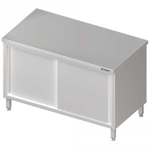 Stół centralny,przelotowy z drzwiami suwanymi 1200x600x850 mm