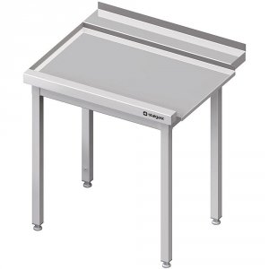 Stół wyładowczy(L), bez półki do zmywarki STALGAST 1400x750x880 mm spawany