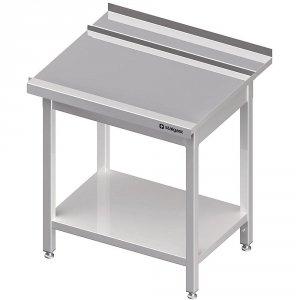 Stół wyładowczy(P), z półką do zmywarki STALGAST 800x750x880 mm spawany
