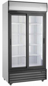 Szafa chłodnicza przeszklona   690 l   SD802SLE (RQ801SL)