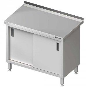 Stół przyścienny z drzwiami suwanymi 1400x700x850 mm