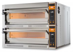 Piec do pizzy elektryczny | dwukomorowy | 8x36 | TOP D 44 XL (TecProD44)