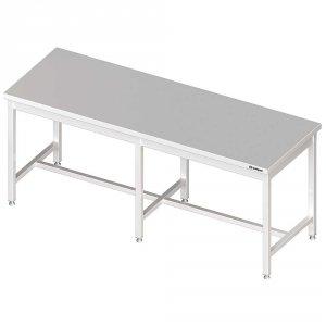 Stół centralny bez półki 2600x700x850 mm spawany