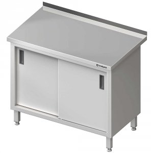 Stół przyścienny z drzwiami suwanymi 900x700x850 mm