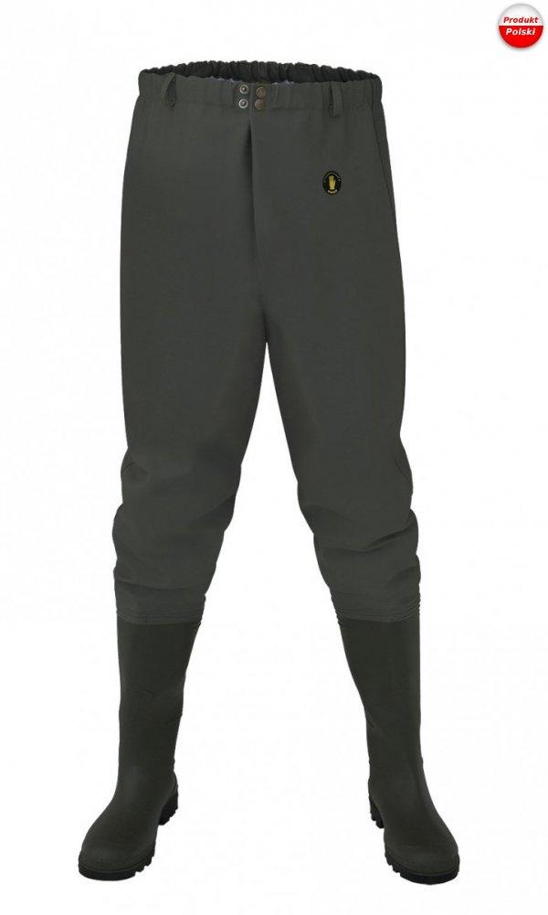 Spodnie wędkarskie do pasa ''standard'' PROS model SP03