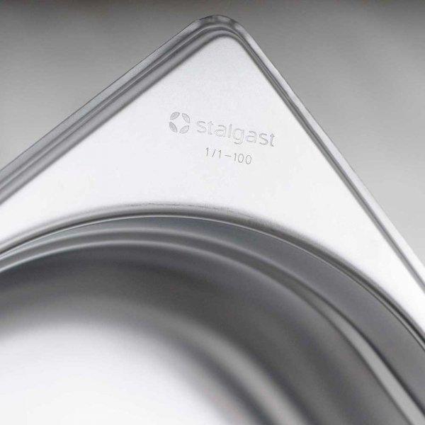 pojemnik stalowy, GN 1/3, H 65 mm