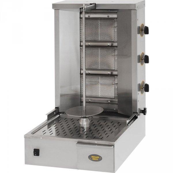 gyros, kebab gazowy, GR 40G, P 7 kW, G 20/30