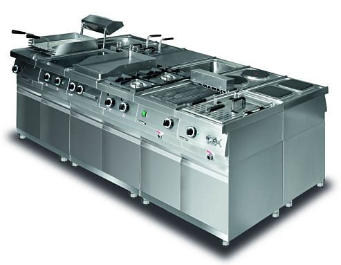 Kuchnia elektryczna 4 płytowa (płyty okrągłe) leh.400 Lozamet