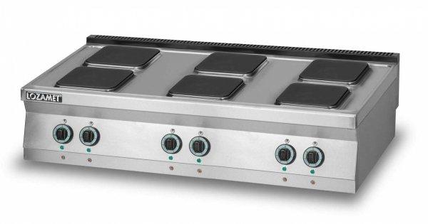 Kuchnia elektryczna 6-płytowa L700.KE6 Lozamet