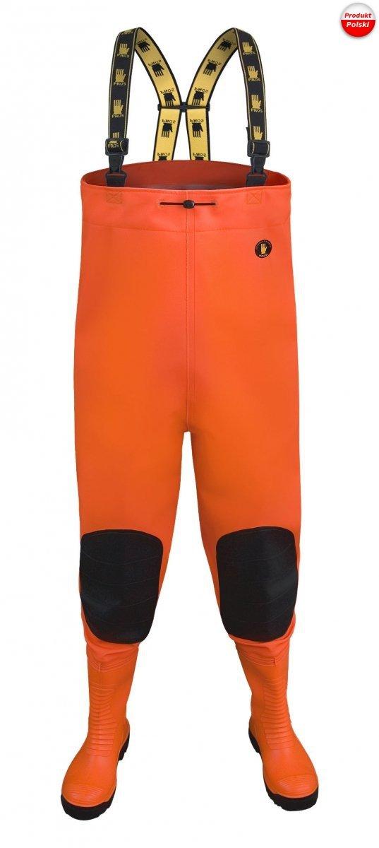 "Spodniobuty PROS ""MAX S5 fluo"" model SBM01 FLUO"