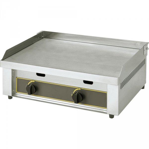 płyta grillowa gładka, gazowa, P 6.4 kW
