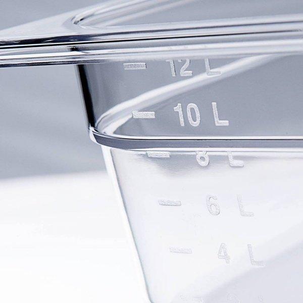 pojemnik z poliwęglanu, GN 1/6, H 200 mm