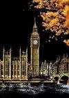 Magiczna Zdrapka Wieża Big Ben Londyn 40x28 cm