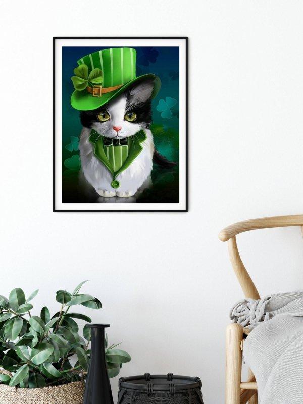 Haft Diamentowy Kotek Elegant 35x45 cm K