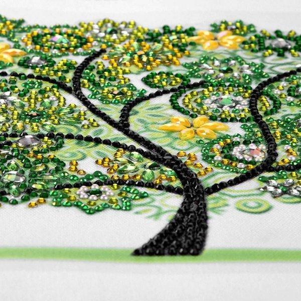 Haft Diamentowy Wiosenne Drzewko 30x30 cm