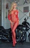 Bodystocking Netty Red przód