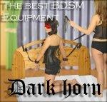 Dark Horn Tytan Whip+ zestaw BDSM