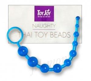 Koraliki analne Thai Blue Toy Joy bacik analny