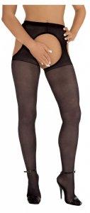 Rajstopy z otworkami Roxana Suspender Tights S/M