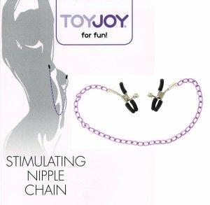 Nipple Chain łańcuszek z zaciskami na sutki ToyJoy