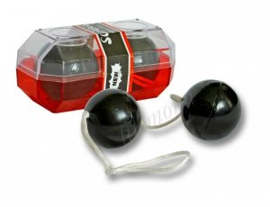 KULKI GEJSZY PVC DUOTONE BALLS BLACK