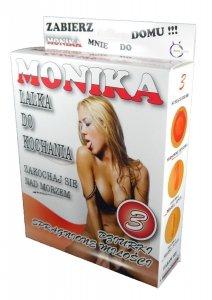 Lalka miłości Monika namiętna blondyna