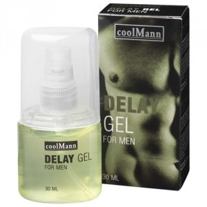 Cool Mann Delay Gel żel opóźniający wytrysk 30ml