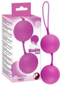 Duże kulki gejszy XXL Balls Pink