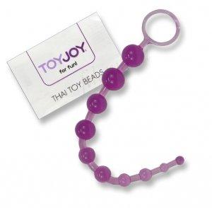 Koraliki analne Thai Purple Toy Joy bacik analny
