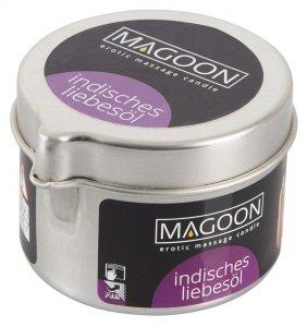 Magoon Indisches Liebesol świeczka olejek do masażu