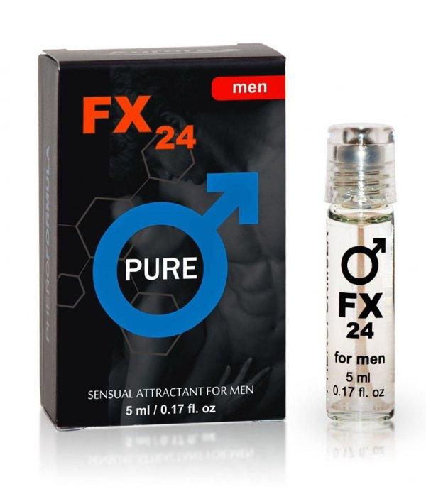 FX24 Pure 5ml bezzapachowe feromony dla mężczyzn