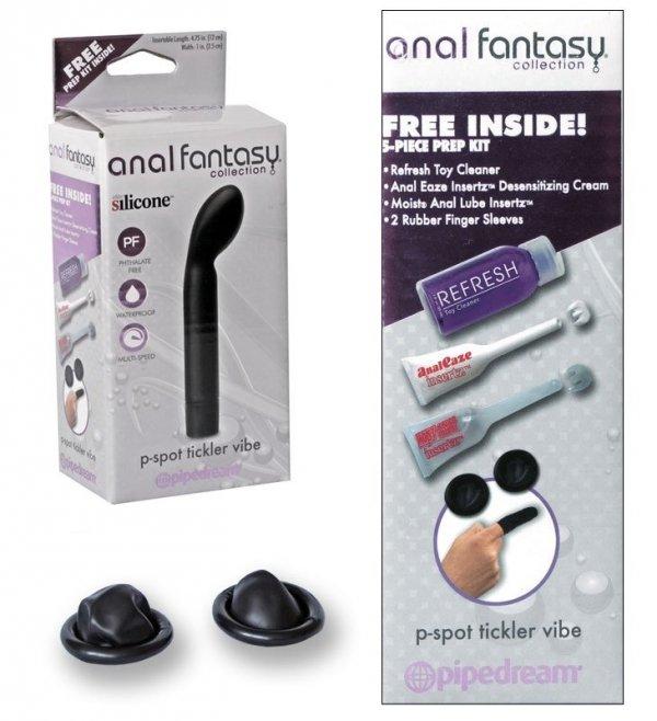 Anal Fantasy P-Spot silikonowy wibrator analny