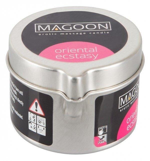 Magoon Oriental Ecstasy świeczka olejek do masażu przód