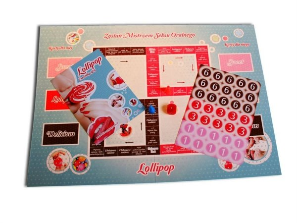 Gra erotyczna Lollipop plansza