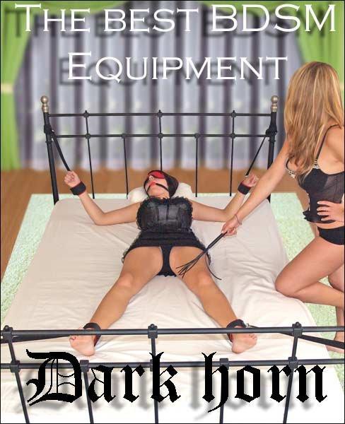 Dark Horn Giant King zestaw BDSM
