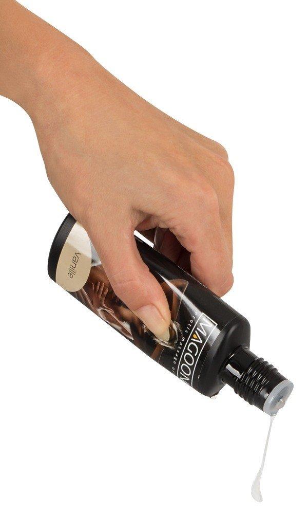 MAGOON VANILLE Olejek do masażu erotycznego w ręce