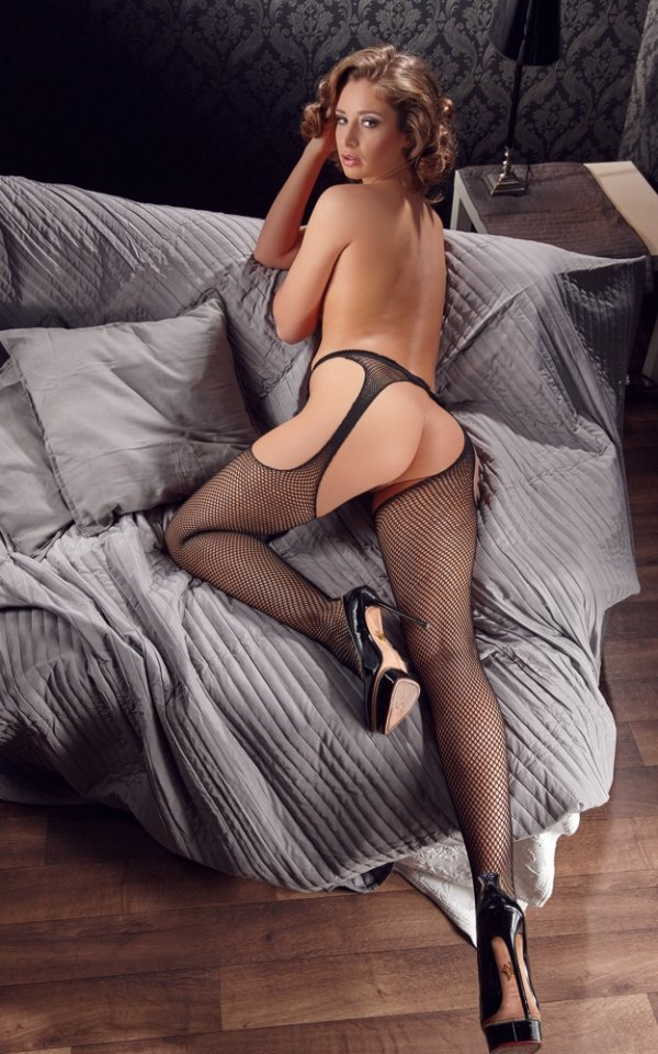 Rajstopy z otworkami Sex-Strumpfhose Tights opakowanie