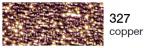 mulina Madeira Metalic perle 10 -copper  327