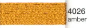 mulina Madeira Metallic 4- amber 4026