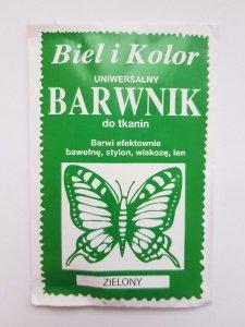 Barwnik - Biel i Kolor - zielony