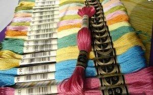 Mulina w kolorach DMC - wyślij listę kolorów