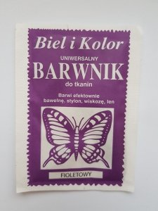 Barwnik - Biel i Kolor - fioletowy