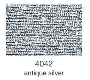 mulina Madeira Metallic 4-antique silver 4042