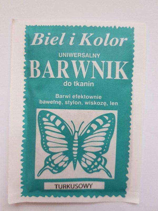 Barwnik - Biel i Kolor - turkusowy